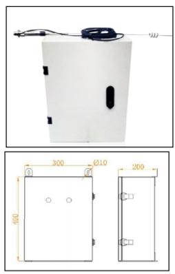 pilot controlled lighting controller